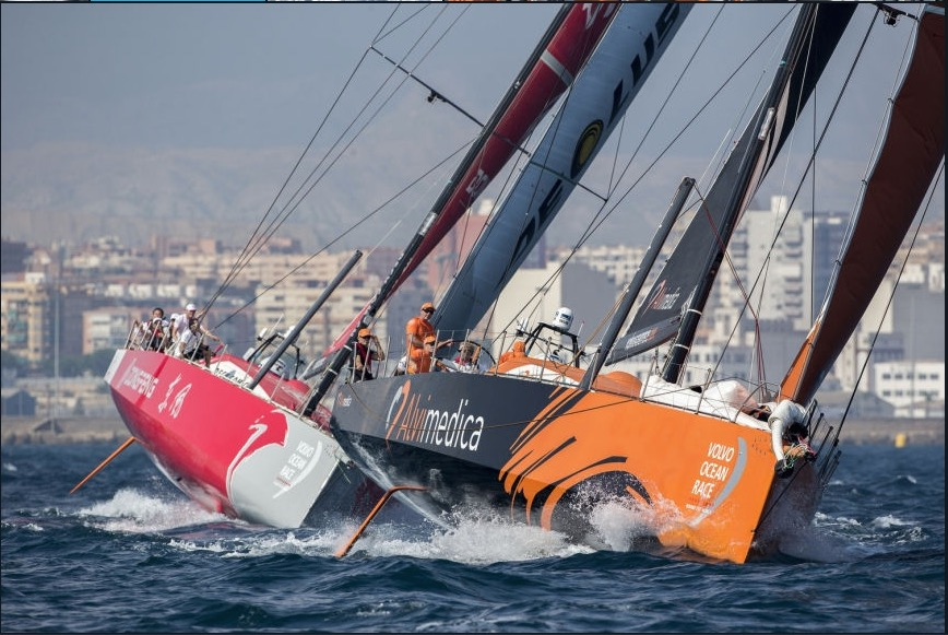 In Port Race i Cape Town - Pizza og livestream i Port Molde